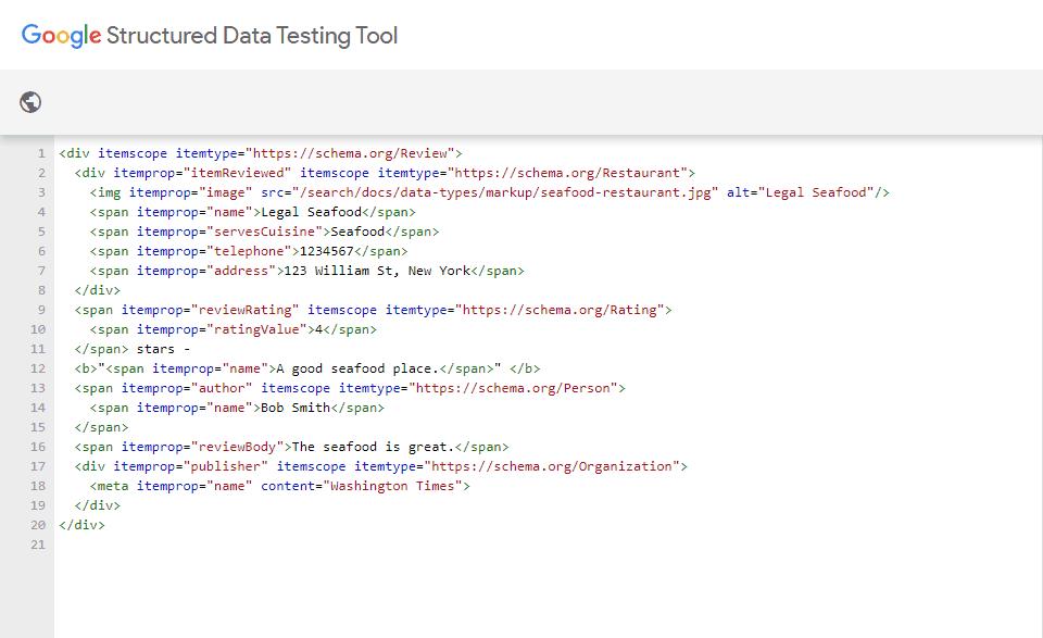 داده های ساختار یافته Microdata
