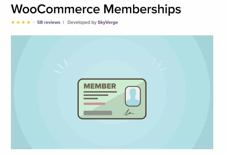 افزونه WooCommerce Memberships