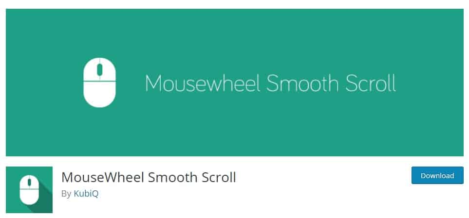 افزونه MouseWheel Smooth Scroll